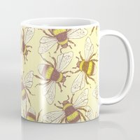 bees Mugs featuring Bees! by Good Sense