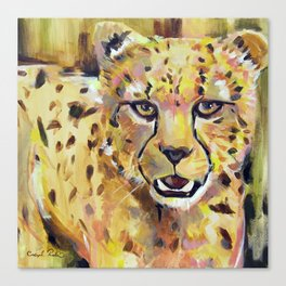 With a Quickness | Cheetah  Canvas Print
