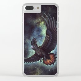 Starry Flight Clear iPhone Case