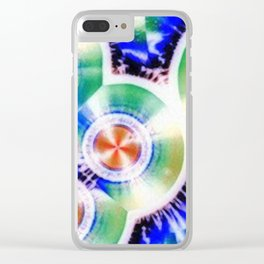 Happy Vitamin C Crystals in Sunlight Clear iPhone Case