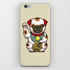 Maneki Pugko iPhone & iPod Skin
