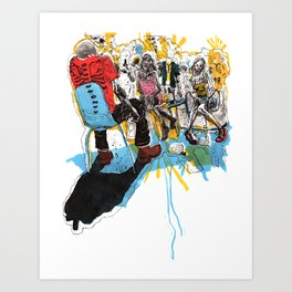 Epistolarians Art Print
