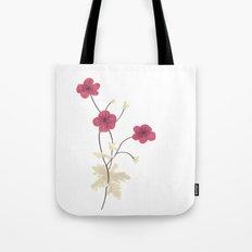 Armenian Cranesbill Flower Tote Bag
