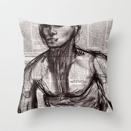 Down South Throw Pillow