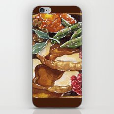 Turkey Dinner iPhone & iPod Skin