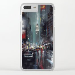 The Empire Strikes Back Clear iPhone Case