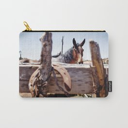 Horsehoe Blur Carry-All Pouch