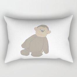 Ahh Ahh Monkey lovey Rectangular Pillow