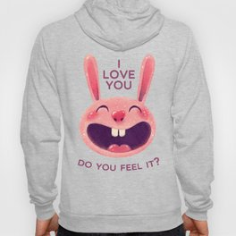 Bunny with love Hoody