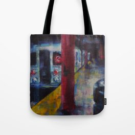 Underneath NYC: Hoyt Street on the 2/3 Line Tote Bag
