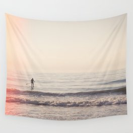Vintage Paddler Wall Tapestry