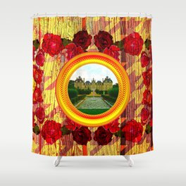 LIKE TO KEEP MY MEMORIES IN STYLE - RUSTIC BAROQUE - FRENCH CHATEAU Shower Curtain