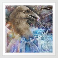 fairy tale Art Prints featuring Fairy Tale by Visionary Imagery