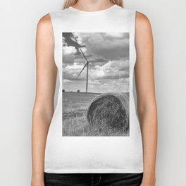 Country Wind Turbine Biker Tank