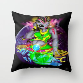 Universal Frequencies Throw Pillow