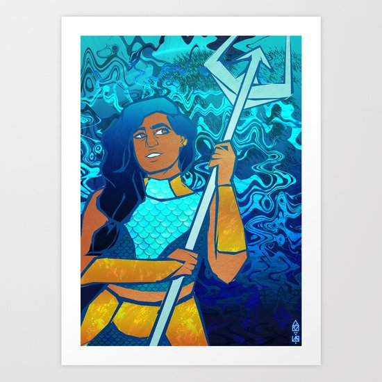 Mermista Art Print By Calanthes Society6 Want to discover art related to mermista? mermista art print by calanthes