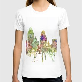 Cincinnati, Ohio Skyline SG - Faded Glory T-shirt
