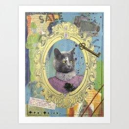 "Priscilla ""Pippi"" Durant Art Print"