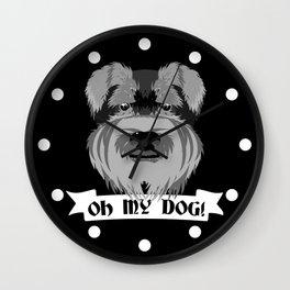 Oh My Dog Wall Clock