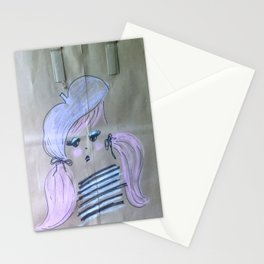 Pink Ladies: Oui Oui Stationery Cards