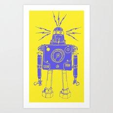 Mr Roboto Art Print