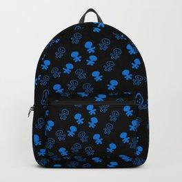 Aliens-Blue Backpack