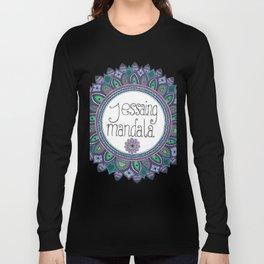 jessaing.mandala logo Long Sleeve T-shirt