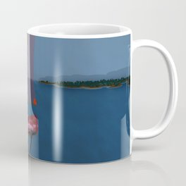 Racing in May with May - shoes stories Coffee Mug