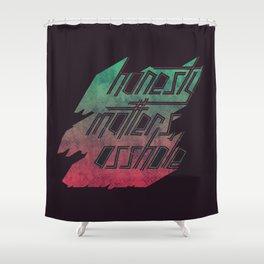 Honesty Matters Shower Curtain