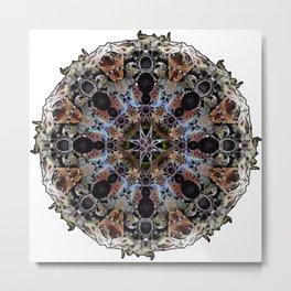Spider Decoration Metal Print