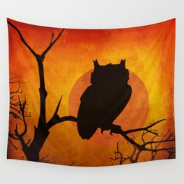 Halloween Is Coming Wall Tapestry