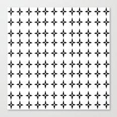 Four.Point.Print (White) Canvas Print