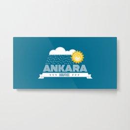 Ankara Havasi Metal Print