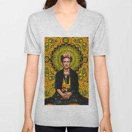 Frida Kahlo 3 Unisex V-Neck