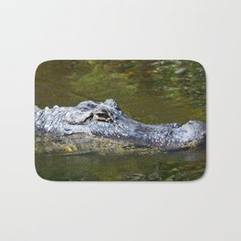 Wild Gator Bath Mat