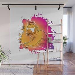 DJ Llama Yonder Skin Wall Mural