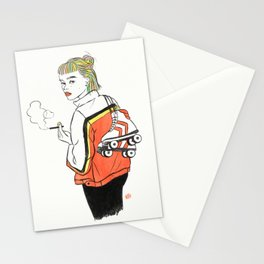 She Is a Rainbow Stationery Cards