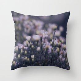 Dreamy daisies Throw Pillow