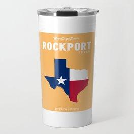 Rockport Texas. Travel Mug