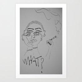 bold gurl Art Print