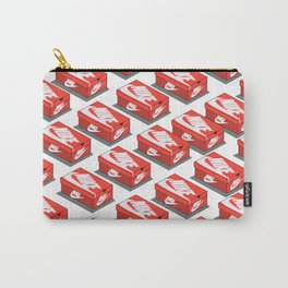 Shoe Box Pattern Hypebeast Carry-All Pouch