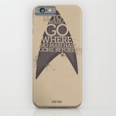 Star Trek - Boldly go where no man has gone before iPhone 6s Slim Case