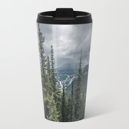 Landscape | View of Banff | Mountain Top Travel Mug