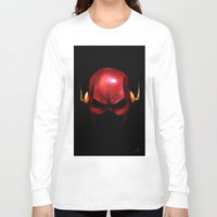 the flash Long Sleeve T-shirts featuring Flash by Chuck Jackson