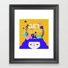Get inspired Framed Art Print