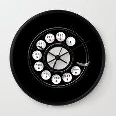 Rotary Me Wall Clock