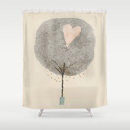 how love grows Shower Curtain