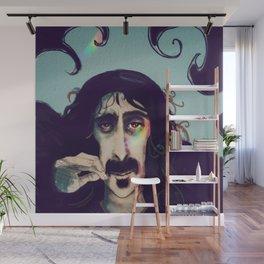 Frank Zappa Wall Mural