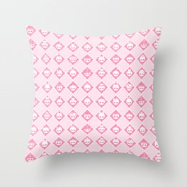 The Nik-Nak Bros. Strawbury Milk Throw Pillow