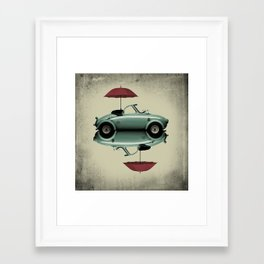 soft top Framed Art Print